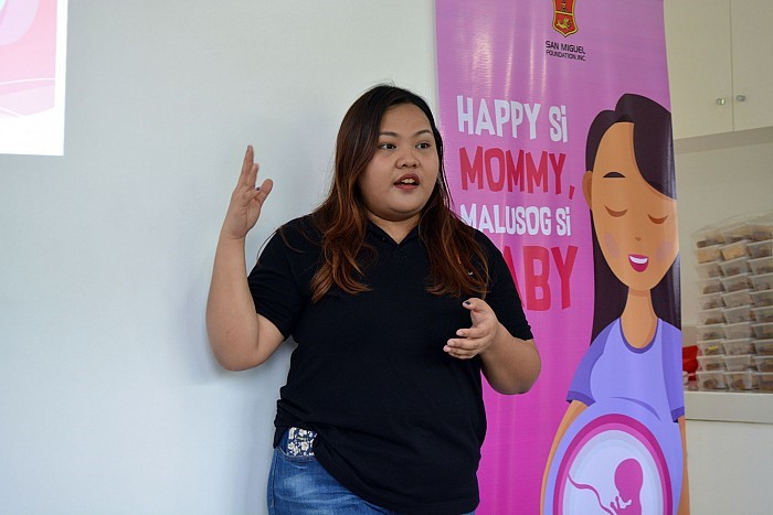 San Miguel Foundation launches Happy si Mommy, Healthy si Baby Program