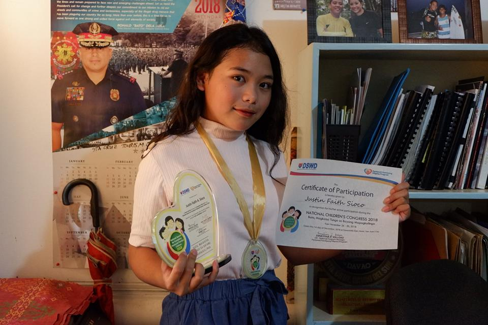 STA. CRUZIAN IS EXEMPLARY CHILD REGIONAL WINNER